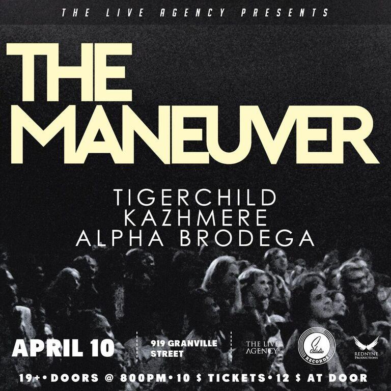 The Maneuver at Studio Records